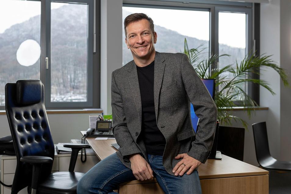 Alexander Karrei führt seit 2017 die Geschäfte bei der TGF .