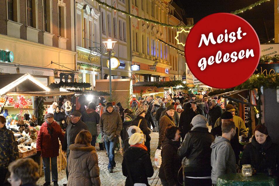 Keine Party, sondern nur noch Schlendern zwischen den Buden - so wird es in diesem Jahr auf dem Wenzelsmarkt sein.