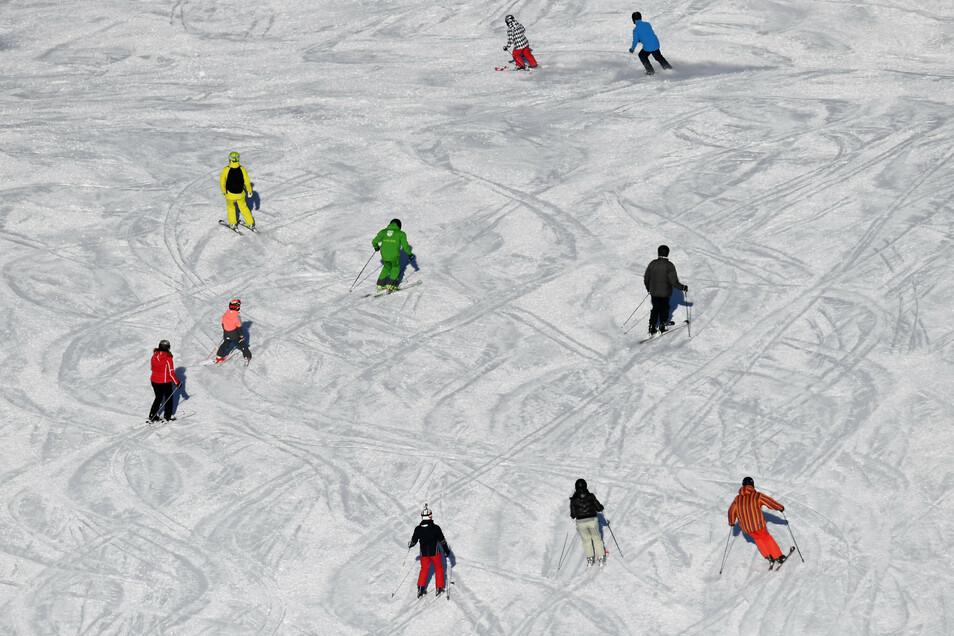 Wintersportler werden in der kommenden Saison überall mit Vorsichtsmaßnahmen konfrontiert sein.