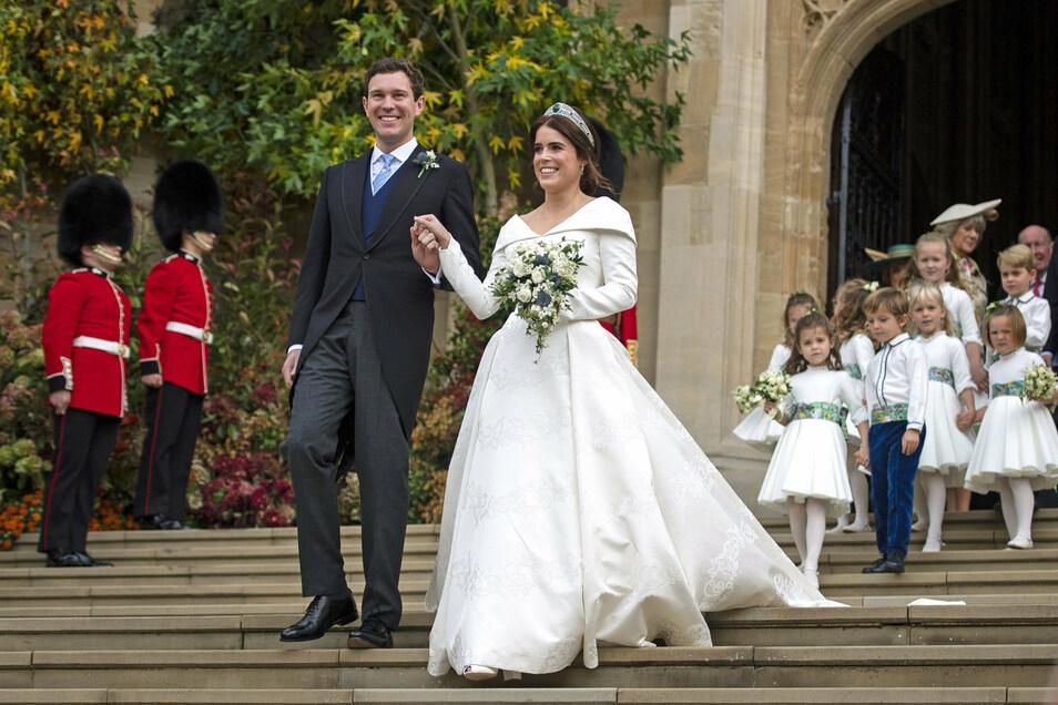 Das Paar hatte im Oktober 2018 auf Schloss Windsor geheiratet.
