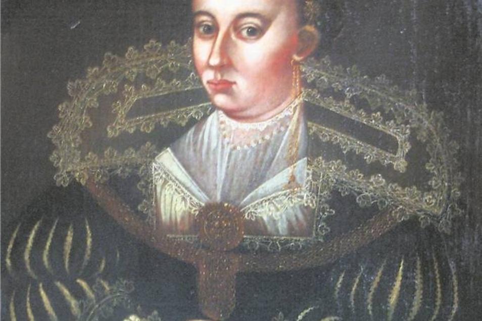 Eine der wenigen Abbildungen Elisabeths aus dem Museum Schloss Wilhelmsburg Schmalkalden. Repro: SZ