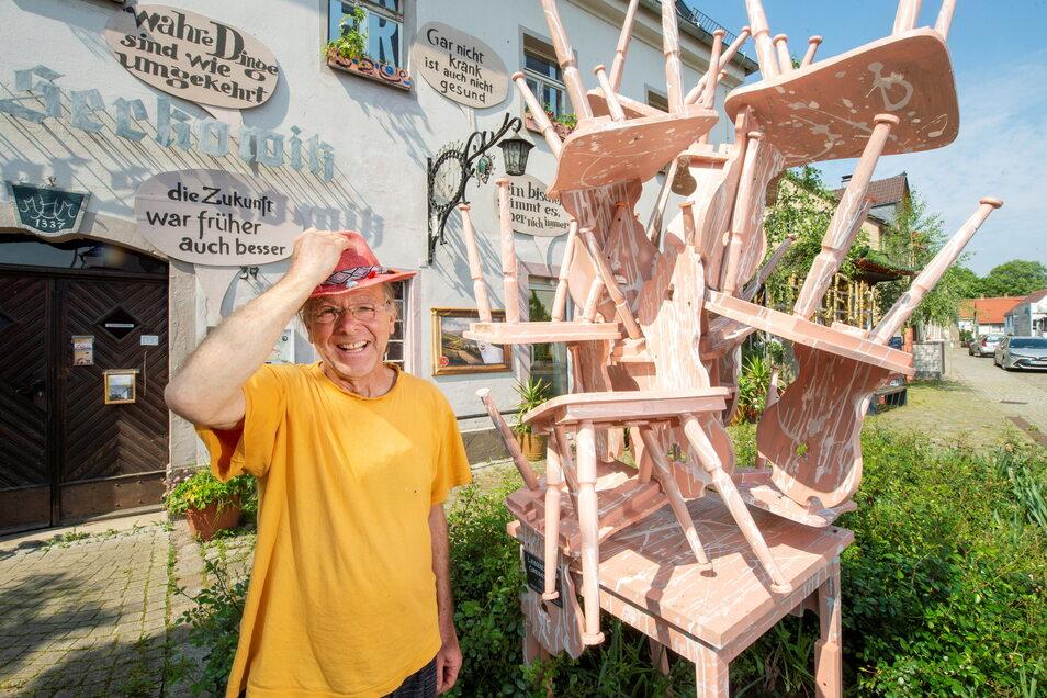 Das Projekt der freien Kunsthalle hat Reinhard Zabka vom Lügenmuseum initiiert.