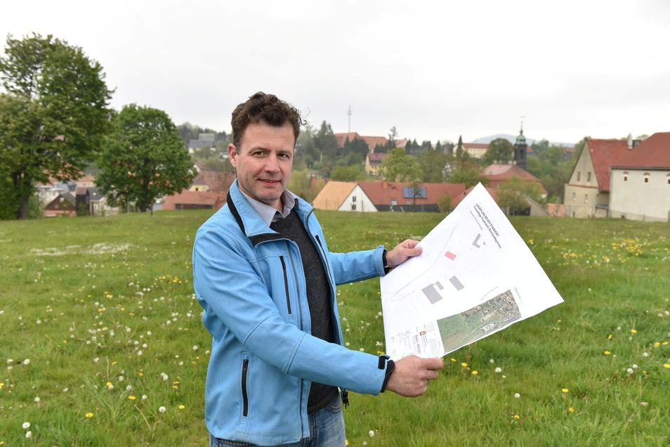 Thomas Flasche ist zweiter stellvertretender Bürgermeister in Glashütte.
