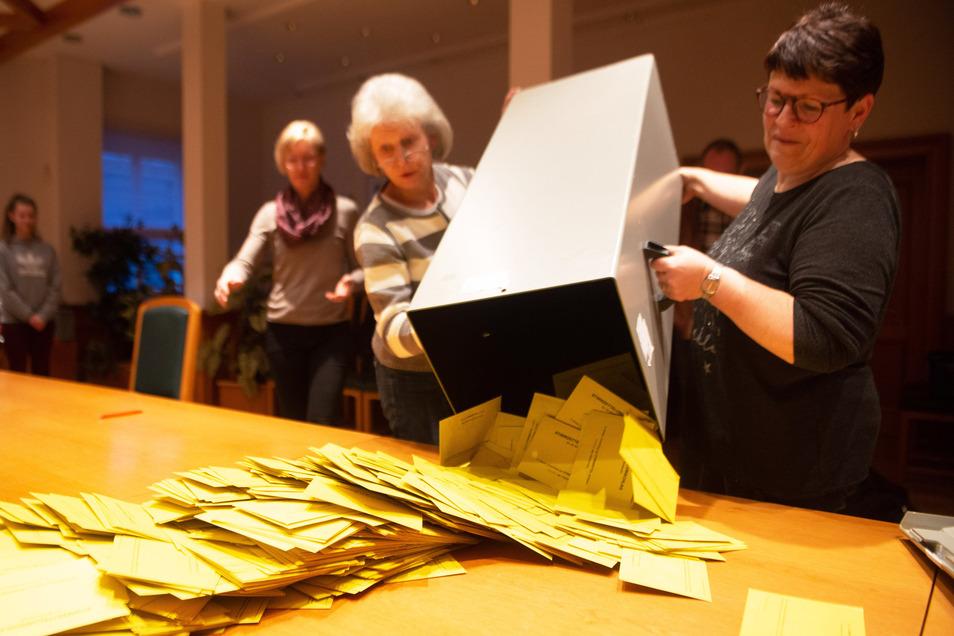 Bei der Bürgermeisterwahl am 8. März war die Wahlbeteiligung mit rund 65 Prozent hoch.