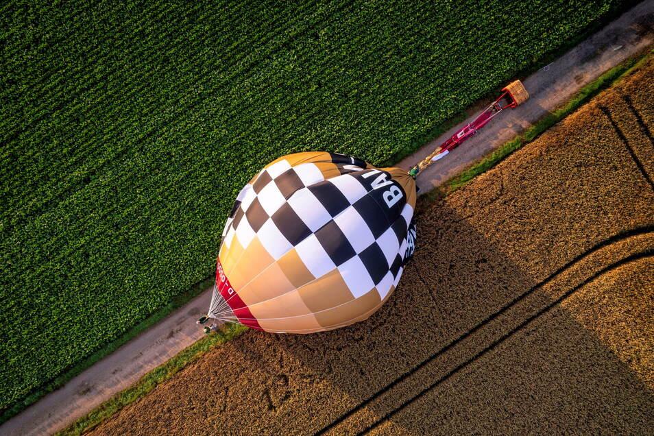 Auch eine ordentliche Landung muss geübt werden. Mit dem Ausbildungsballon ist das nun bestens möglich.