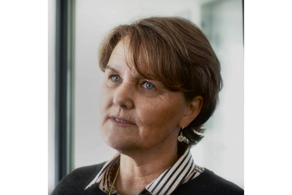 """Heike Werding, 60-jährige Anführerin der Gruppe und selbsternannte """"Generalbevollmächtigte der Geeinten deutschen Völker und Stämme""""."""