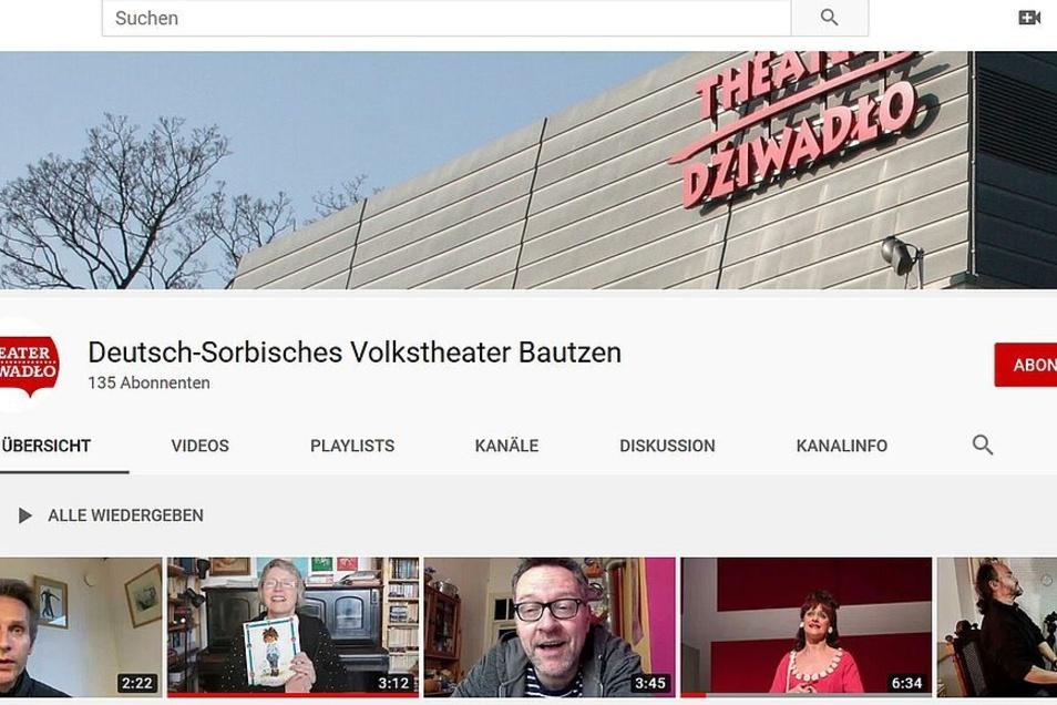 Start frei für die Videos vom Theater Bautzen.