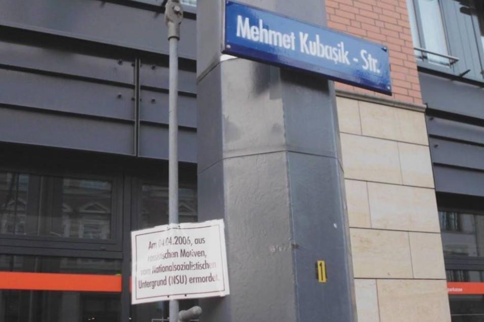 Aus dem Schillerplatz wurde die Mehmet Kubasik -Straße.