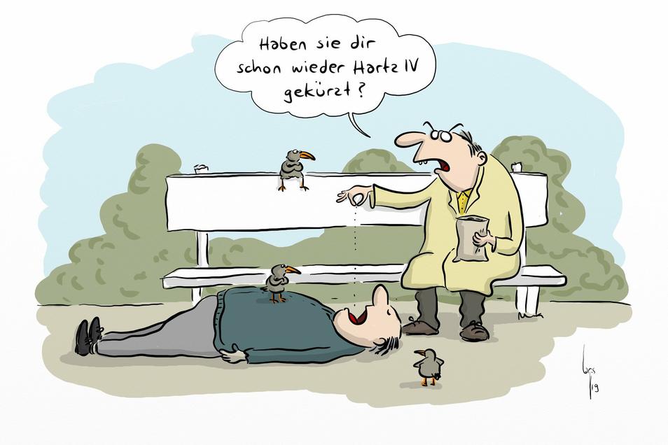 Karikatur, Mario Lars.