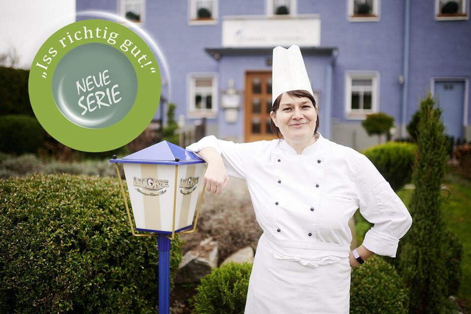 """Mit ihrem Gutshof """"L'Auberge"""" hat Küchenchefin Tina Weßollek ein kleines Stückchen Frankreich mitten in der Lausitz etabliert."""