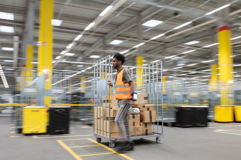 Amazon wehrt sich seit Jahren erfolgreich gegen Einfluss von Gewerkschaften.