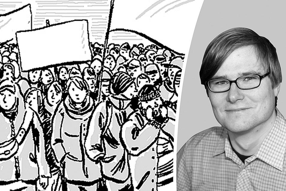 Der Schriftsteller Michael Bittner (Foto) schreibt diese Kolumne für die SZ im Wechsel mit dem Dresdner Politikwissenschaftler Werner J. Patzelt.