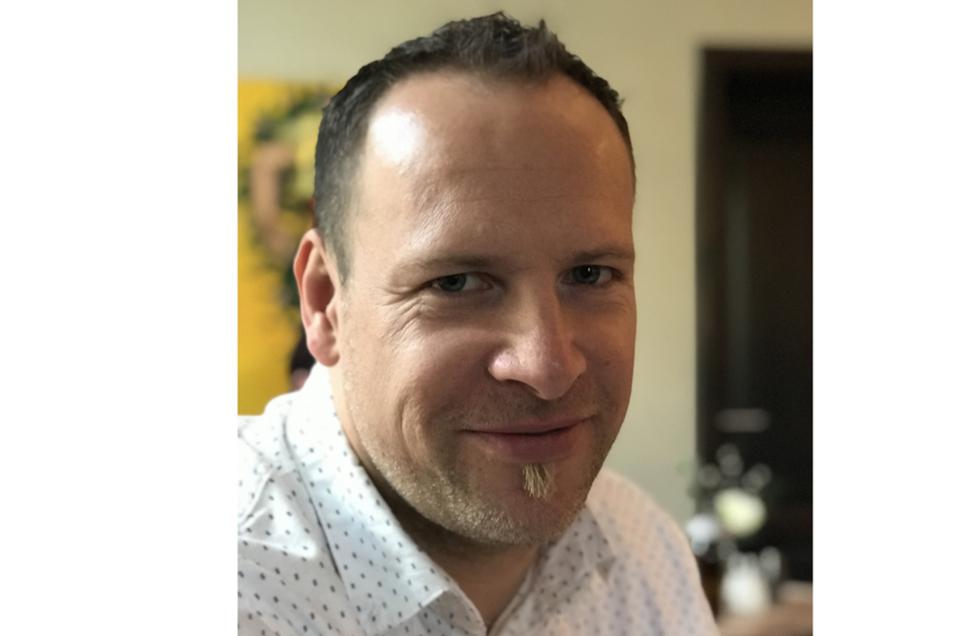 Sebastian Sende arbeitet als Praxisberater an der Oberschule Ottendorf-Okrilla.