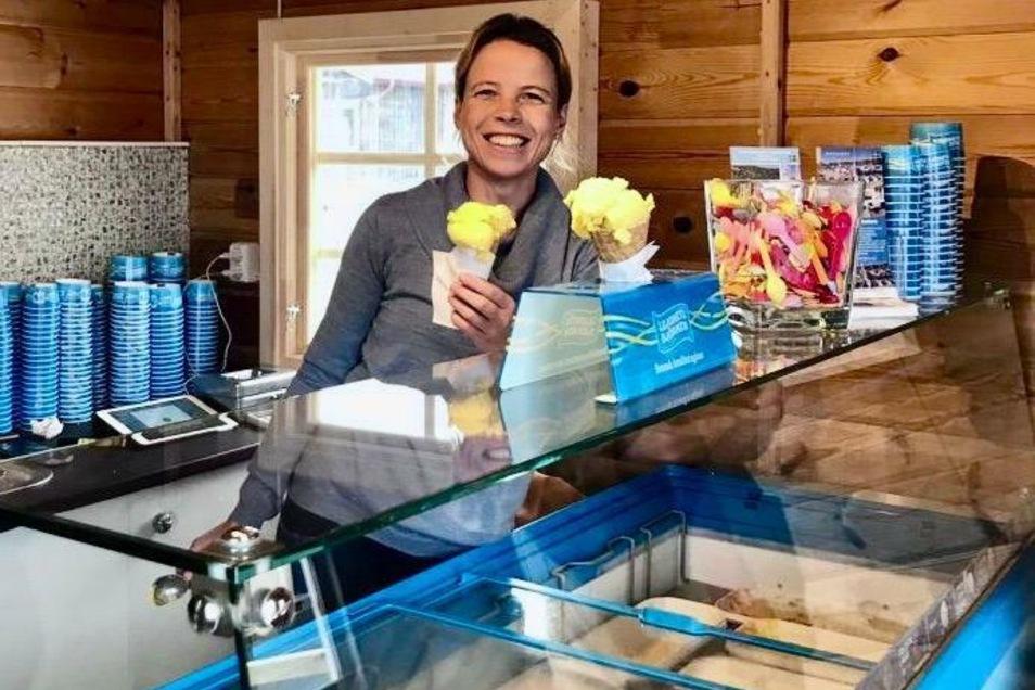 Im Eisladen von Doreen Ranisch an der schwedischen Westküste lief es dieses Jahr wie geschmiert.
