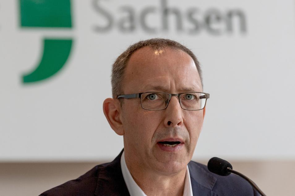 Sachsens AfD-Chef Jörg Urban.