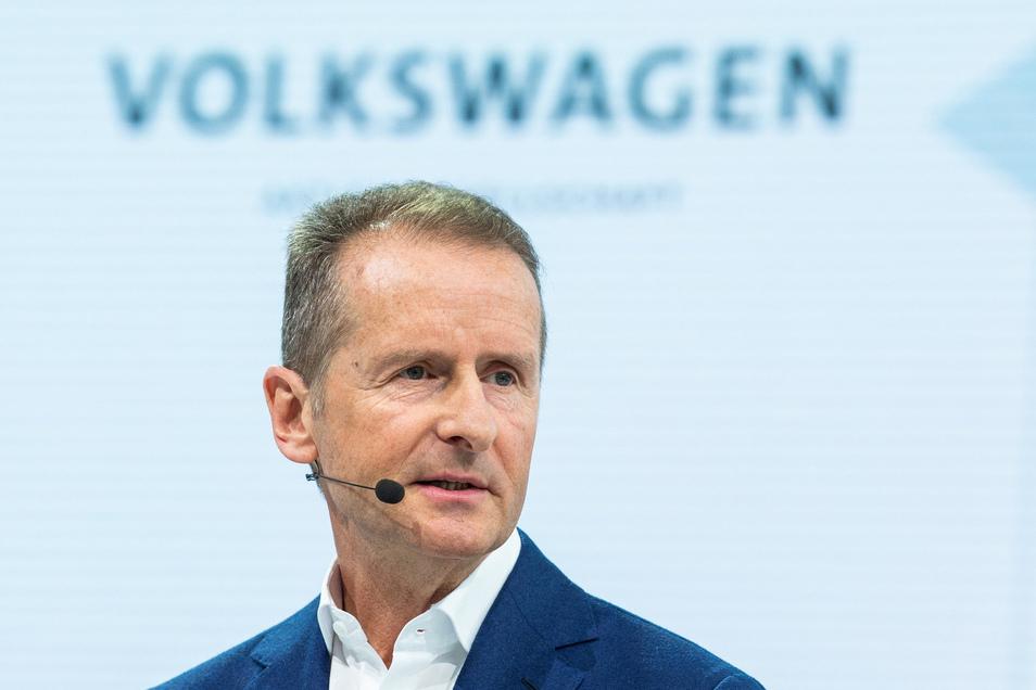 Das Verfahren gegen den Vorstandsvorsitzender der Volkswagen AG Herbert Diess wird eingestellt.
