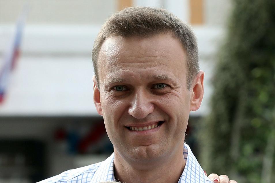 Nawalny war am 20. August während eines Inlandsflugs in Russland zusammengebrochen.