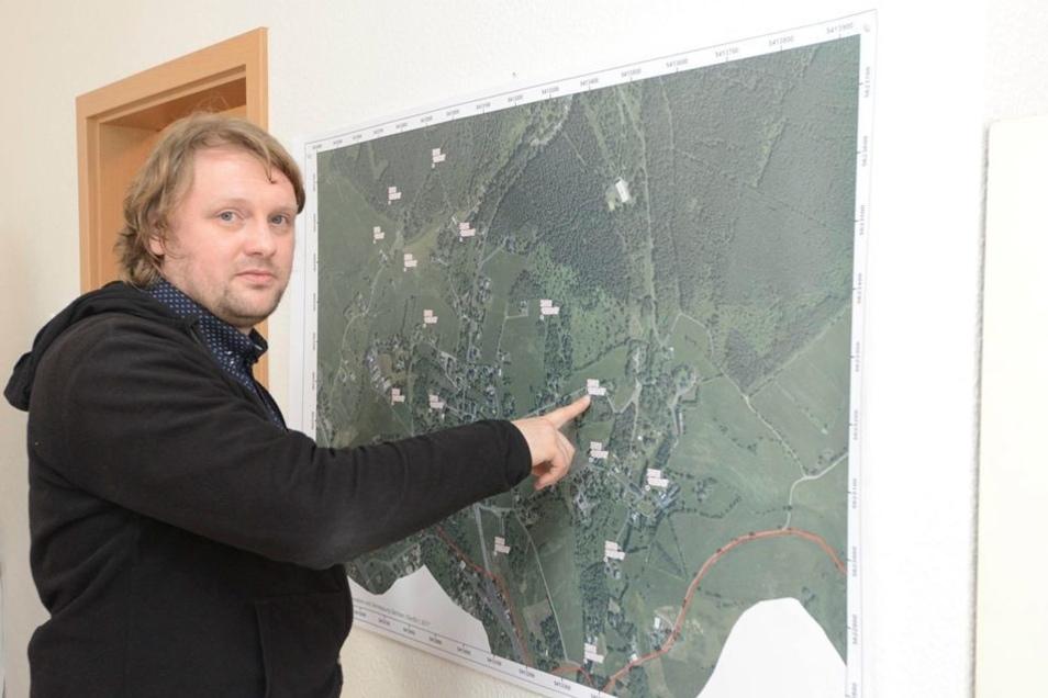 Der Geologe: Thomas Dittrich betreut als Geologe die Erkundungsbohrungen, die aktuell in Zinnwald laufen.