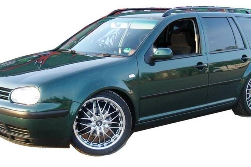 Dieser grüne VW Golf IV Variant gehörte Enrico Kubat.