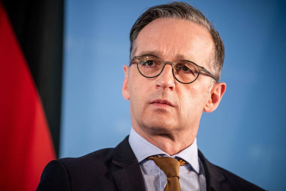 Heiko Maas (SPD), Außenminister.