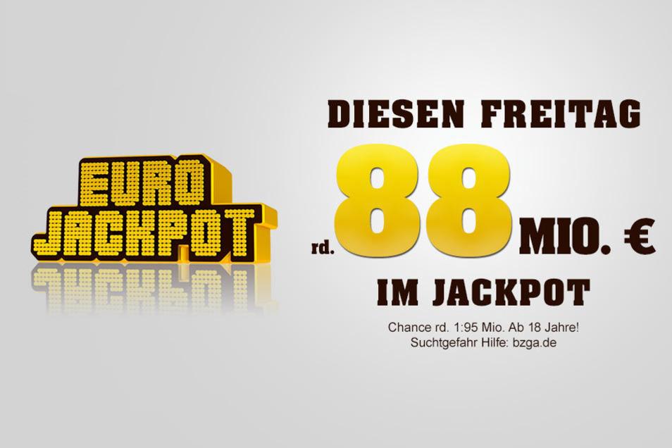 Mit etwas Glück führen die fünf Glückszahlen am Freitag zum großen Eurojackpot-Gewinn.