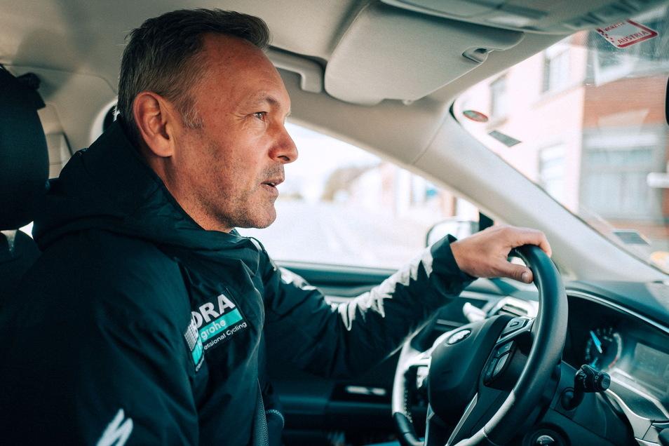 Muss das Steuer bei Bora-Hansgrohe abgeben: Enrico Poitschke.  Auch unter seiner Leitung wurde aus einem Wildcard-Kandidaten für die großen Rennen ein Weltklasse-Team mit Startgarantie.