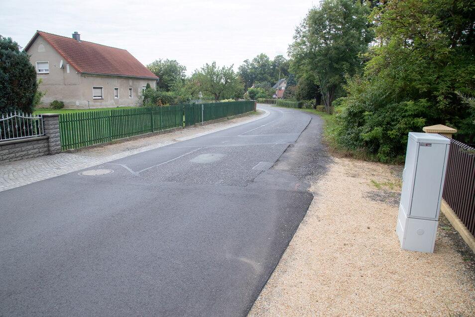 Die Martin-Voss-Straße in See wird im Oktober weiter saniert. Es folgt der Abschnitt bis zur Schlossmauer.