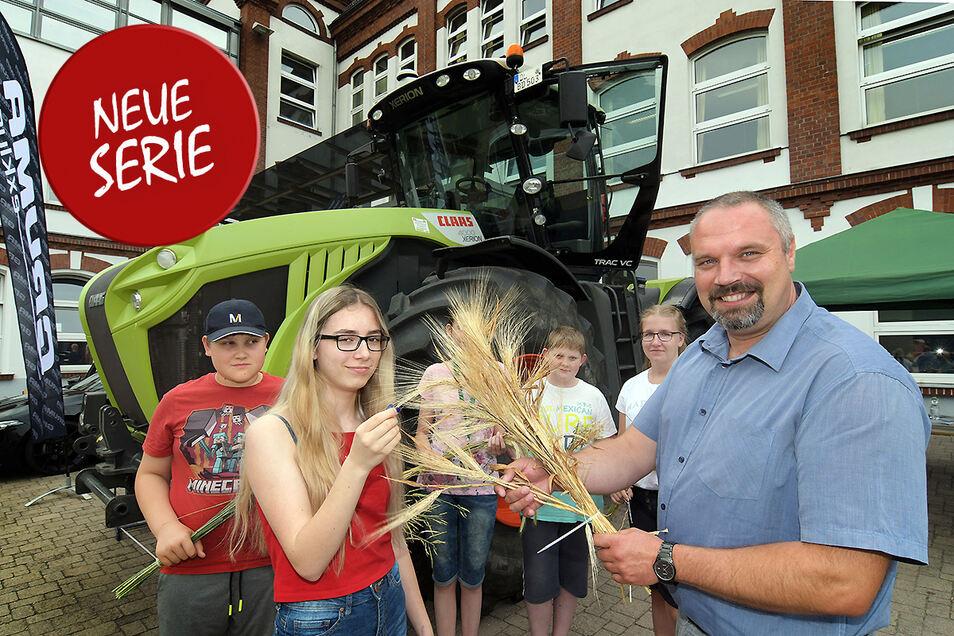 Der Präsident des Sächsischen Bauernverbandes Torsten Krawczyk ist in der Region sehr präsent. Sächsische.de unterhielt sich mit ihm über höhere Nachfrage nach Produkten direkt vom Hof.