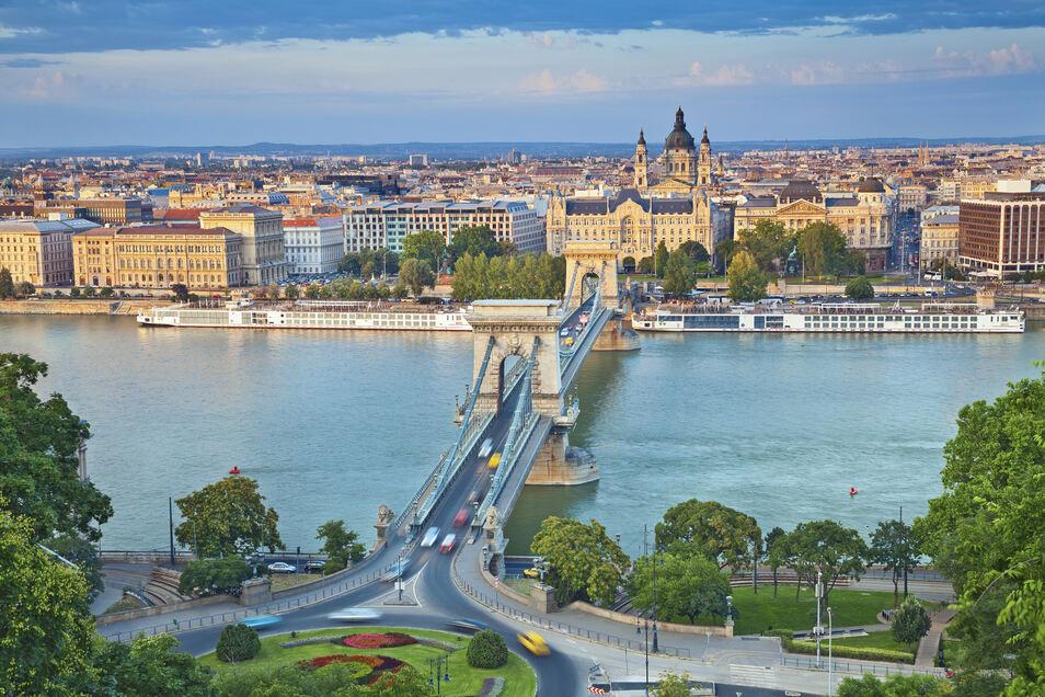 Blick über die Stadt Budapest
