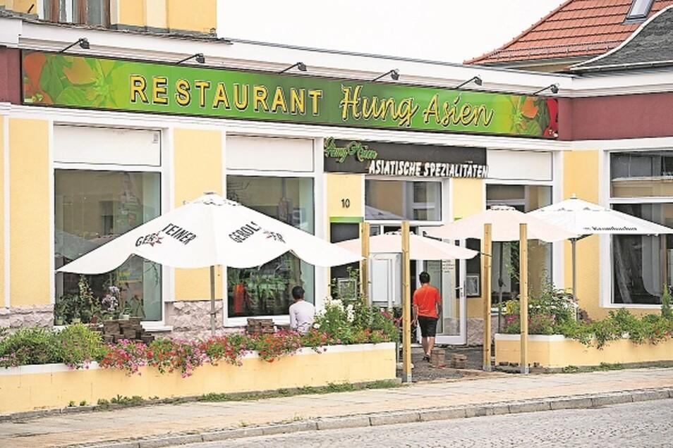 Bald wieder auf: Die Gaststätte neben dem Stadtcafé öffnet am 6. September wieder. Es wird wie schon beim Vorgänger asiatische Küche geben.