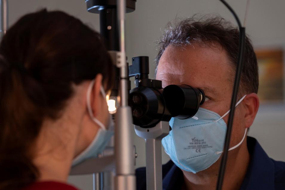 In Sachsen gibt es derzeit 333 ambulant tätige Augenärzte und damit mehr als doppelt so viele wie 1991.