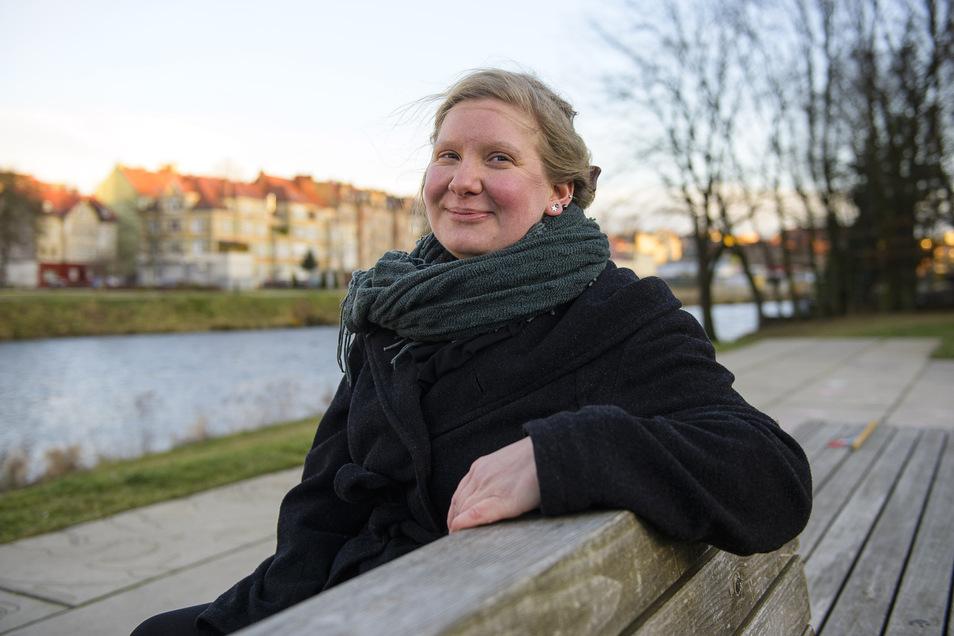 Nuala Huther lebt seit vergangenem Oktober mit der Familie in Görlitz. Nun plant sie ein berufliches Standbein.
