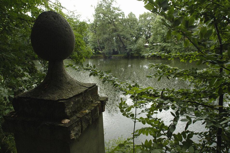 Der Park Naunhof ist geeignet für die Naherholung.