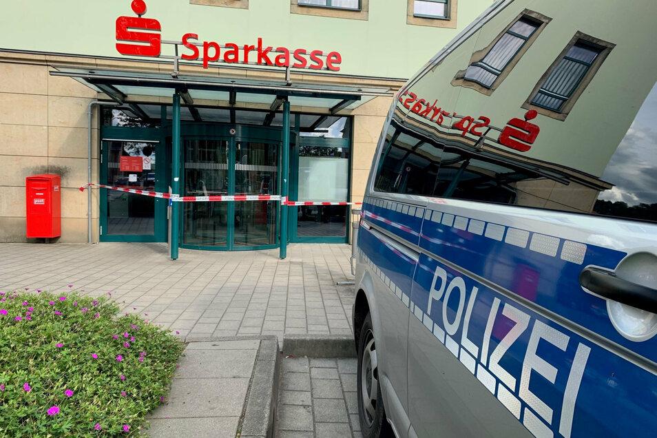 Die Sparkassenfiliale in Bad Schandau ist überfallen worden.