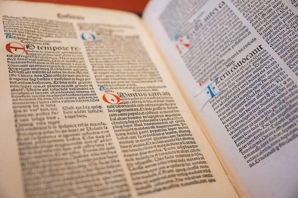 Diese Inkunabel aus dem Jahr 1500 wurde jüngst in der Oberlausitzischen Bibliothek der Wissenschaften entdeckt.