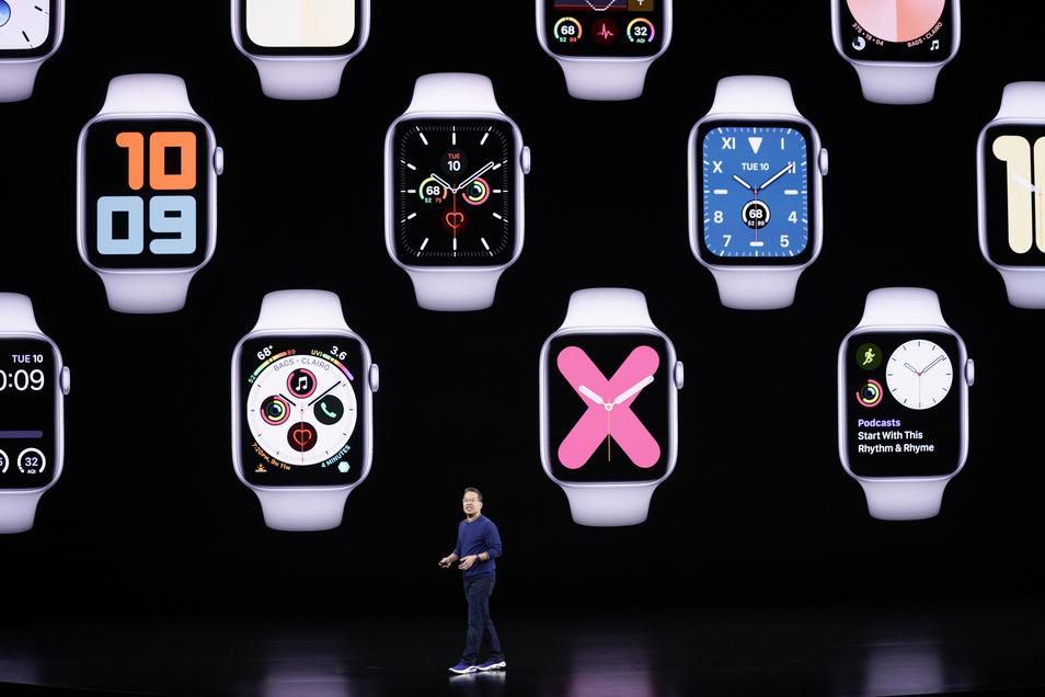 Die Apple Watch gibt es bereits in der fünften Generation.