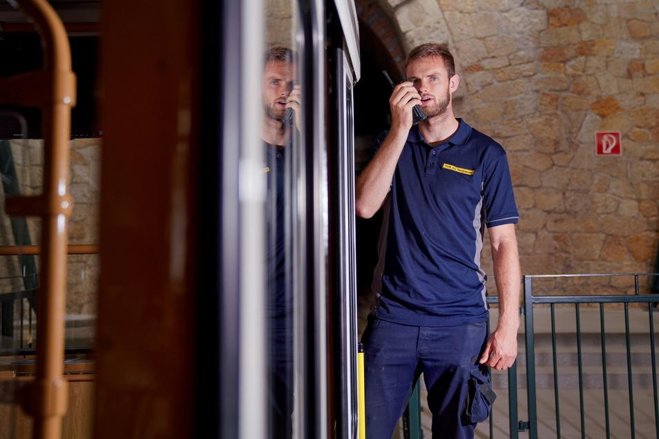 Markus Dorschner ist 25 Jahre jung und neuer Chef der Bergbahnen bei den Dresdner Verkehrsbetrieben.