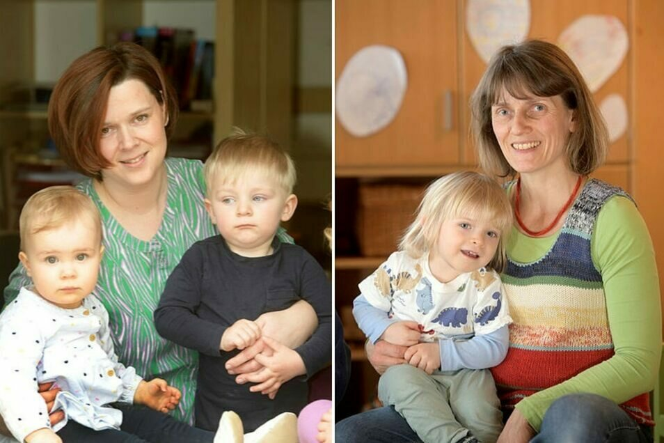 Katja Meyer aus Kittlitz (links) und Annett Gnieser aus Löbau haben von der Stadt die Kündigung erhalten.