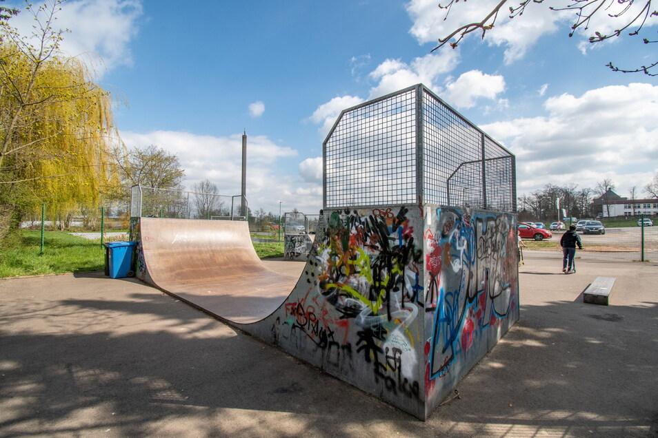Harthaer Skateranlage an der Sonnenstraße bleibt bis Herbst gesperrt.