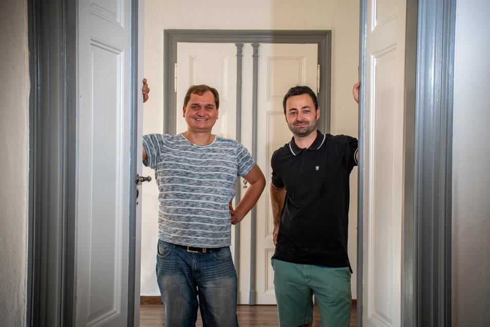 Die Diplom-Psychologen Andreas Böse (links) und Dr. Sebastian Luderer werden im September in einer Praxisgemeinschaft die Arbeit aufnehmen.