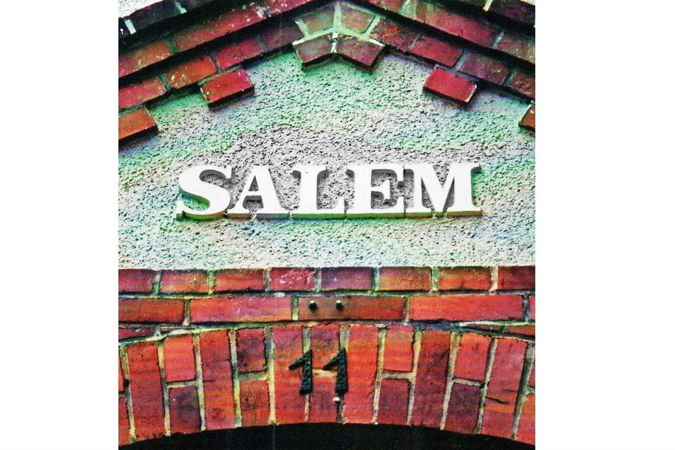 "... des Hauses ""Salem"" im Jahr 1910 ..."