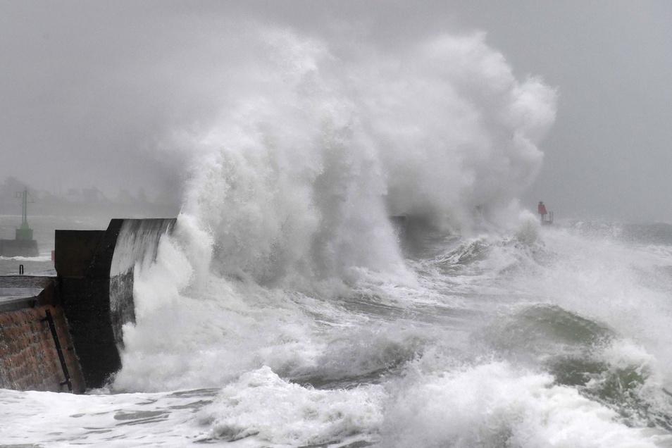 """Das Sturmtief """"Ciara"""" richtet auch in Norditalien Schäden an."""