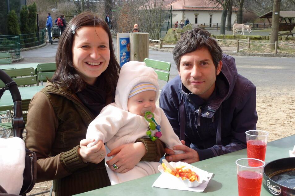 Ihr erster Mann Stefan starb neun Monate nach der Geburt ihres gemeinsamen Sohnes.