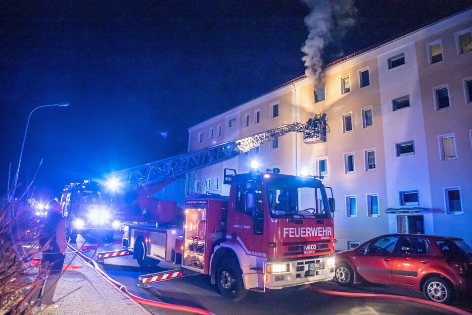 Erst vor Kurzem wurde die Nieskyer Feuerwehr zu einem Wohnungsbrand im Stadtzentrum gerufen. Wegen Corona können die erforderlichen Handgriffe derzeit nicht trainiert werden.