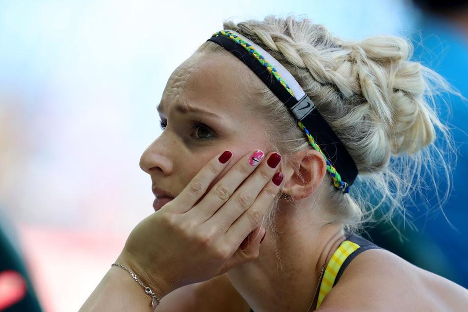 Jenny Elbe grübelt bei ihrem größten Erlebnis, den Olympischen Spielen in Rio, über die fehlenden Zentimeter.