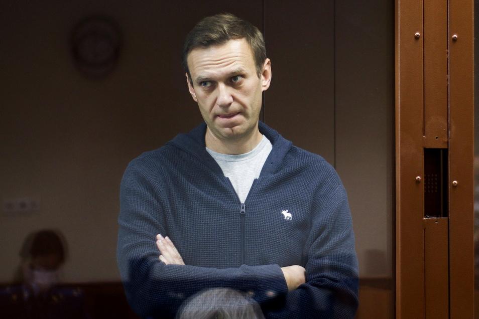 Der russische Oppositionspolitiker Alexej Nawalny ist seit zweieinhalb Wochen im Hungerstreik.