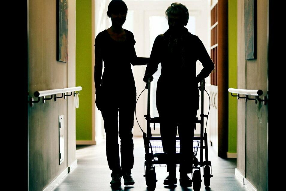 Der bessere Schutz von Altenheimen ist jetzt im Landkreis Görlitz deutlich zu spüren.