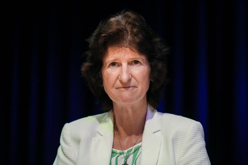 Eva-Maria Stange (SPD) ist Kunstministerin von Sachsen.