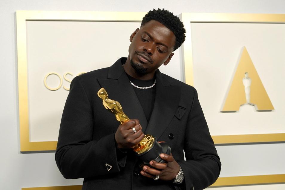 """Daniel Kaluuya, Schauspieler, erhielt den Oscar für den besten Nebendarsteller in """"Judas and the Black Messiah""""."""