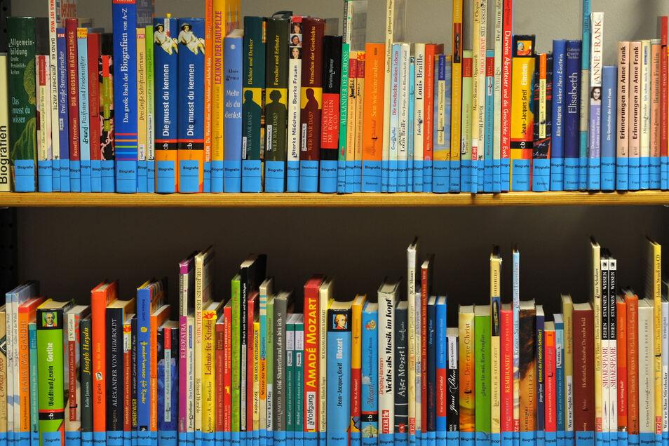 Bücher lassen sich in Riesa bis auf weiteres nicht mehr ausleihen.